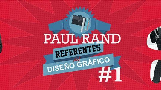 Paul Rand revolucionó el mundo editorial, diseño publicitario y diseño de logotipos.